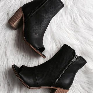 Shoptiques Haight Open Toe Booties