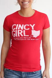 Great to Be Here Tees Cincy Girl Red - Product Mini Image