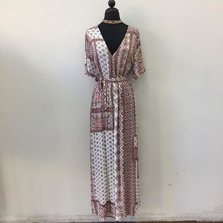 Shoptiques Maxi Printed Dress