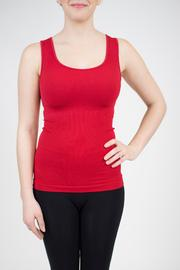 Sugarlips Seamless Ribbed Tank - Front cropped