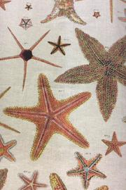 Design Legacy Starfish Curtain Panel - Front full body