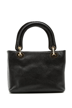 Passports Black Pebble-Leather Bag - Product List Image
