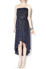 Double Zero Navy Tube Dress - Product Mini Image