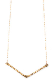 Cinq Dune Necklace - Front cropped