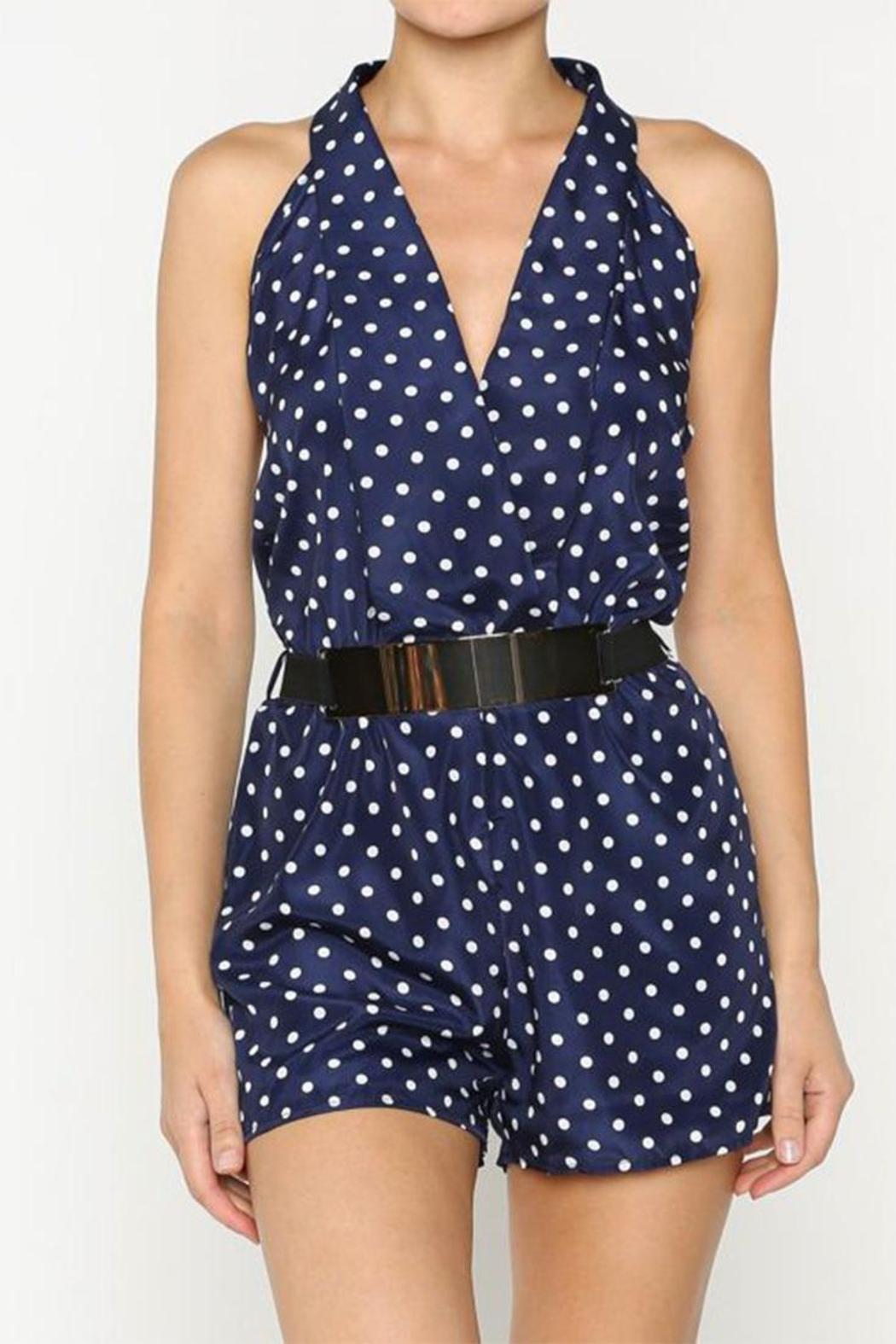 Virginia Wolf Polka Dot Romper from Wyckoff by Maluka u2014 Shoptiques