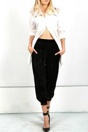 17 STREET Black Balloon Pant - Product Mini Image