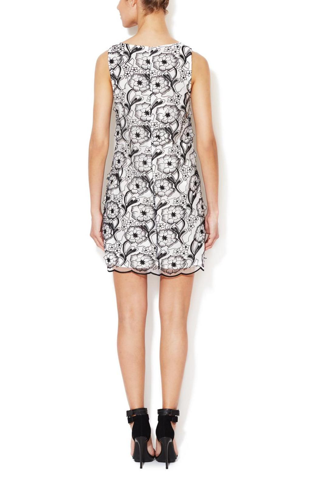 Erin Fetherston 3D Floral Dress - Front Full Image