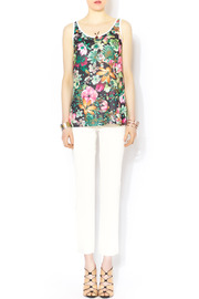 Glamorous Floral Mesh Jersey - Front full body