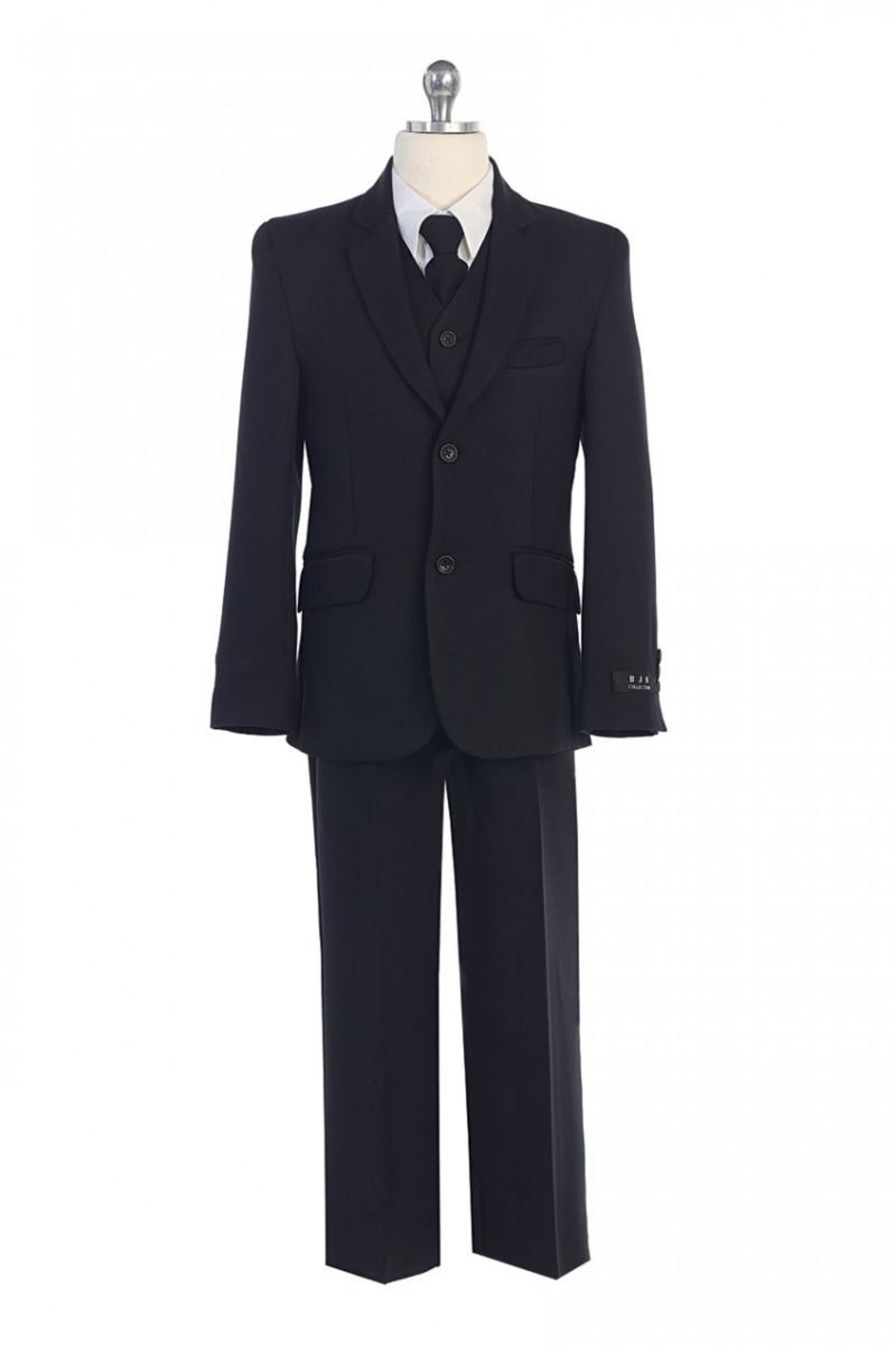 Bijan 5pc Solid Suit - Front Cropped Image