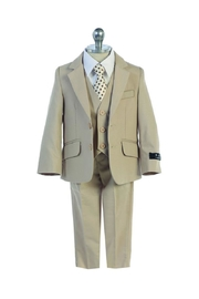 Bijan 5pc Solid Suit - Front cropped