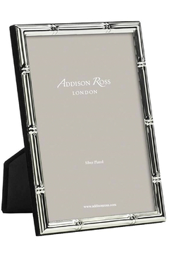 Addison Ross 5x7 Bamboo Silver Plated Frame - Product List Image