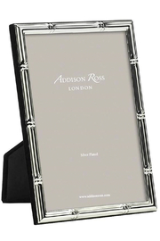 Addison Ross 5x7 Bamboo Silver Plated Frame - Product Mini Image