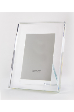 Shoptiques Product: 5X7 CLEAR CRYSTAL FRAME