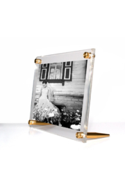 The Birds Nest 5X7 TABLETOP ACRYLIC FRAME(GLASS MEASURES 7X9) - Product Mini Image