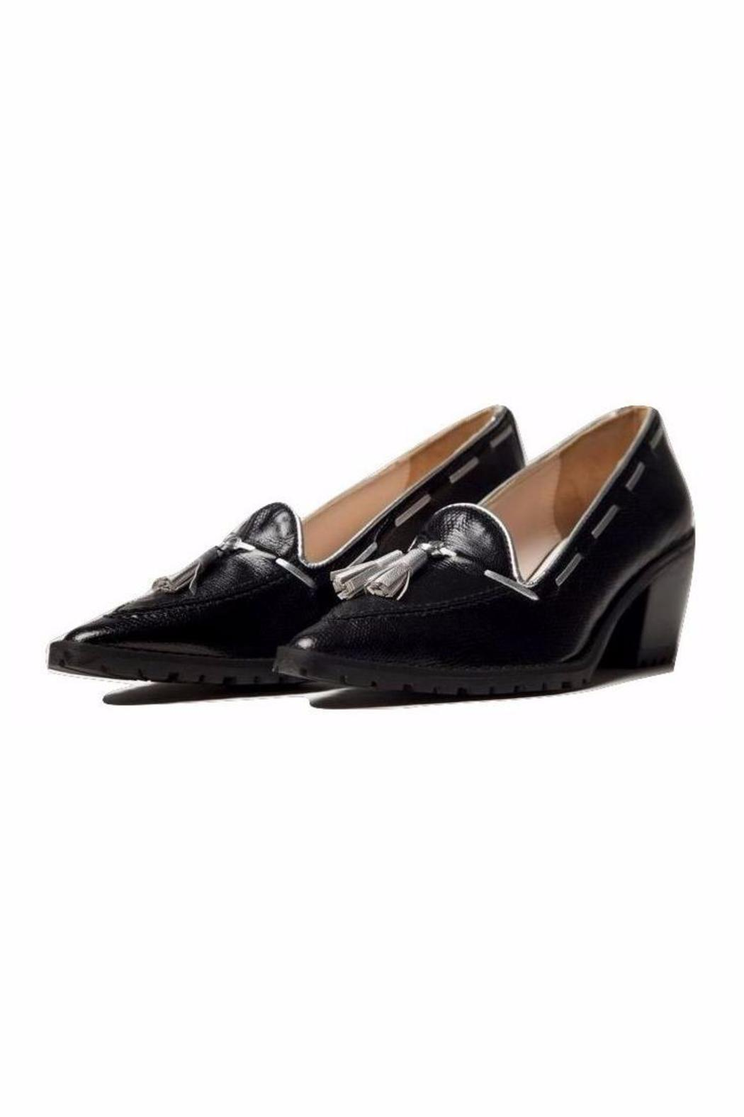 5yMedio Manuela Leather Pump - Front Full Image