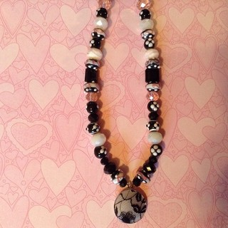 Shoptiques Black and White Necklace