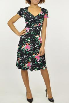 Leota Floral Surplice Dress - Product List Image