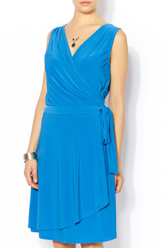 Shoptiques Product: Royal Blue Wrap Dress