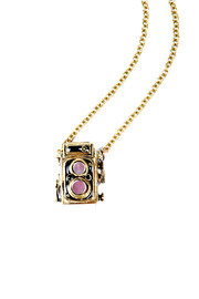 DEFY-MAFIA Camera Pendant Necklace - Product Mini Image