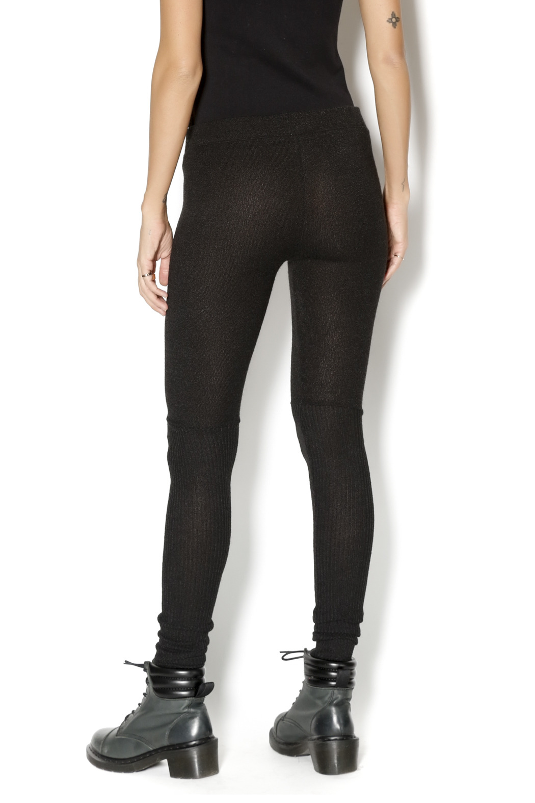 M. Rena Tummy Tuck Leggings - Back Cropped Image