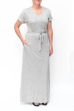 Tulle Vneck Maxi Dress - Product List Image