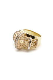Tiara Fine Jewelry Tri-gold Ring - Product Mini Image