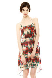 Shoptiques Product: Spaghetti Strap Hi-Lo Dress