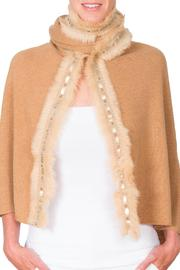 CLAIRE FLORENCE Fur Studs Blanket - Product Mini Image