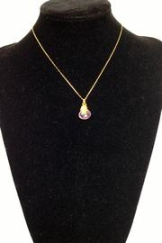 BAR BAR Wired Stone Necklace - Back cropped