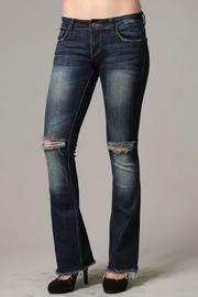 LITZ Flared Denim Jean - Product Mini Image