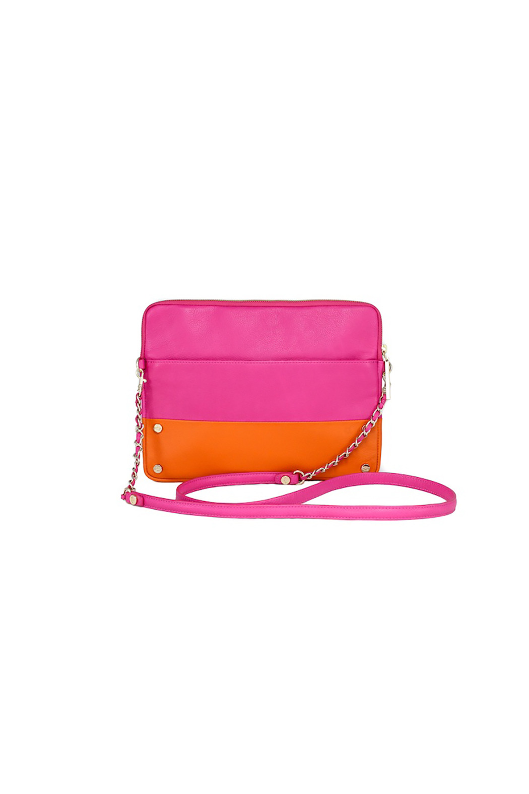 Elaine Turner Pink iPad Crossbody - Front Cropped Image