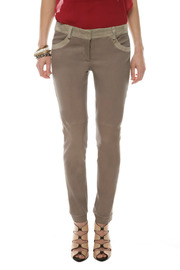 Shoptiques Product: Leather Tuxedo Pants