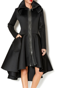 Shoptiques Product: Neoprene Jacket Dress