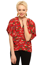 Shoptiques Product: Cropped Blouse - Front cropped