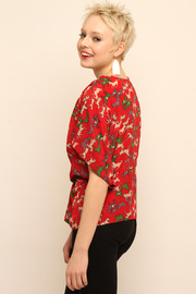 Shoptiques Product: Cropped Blouse - Side cropped