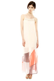 Shoptiques Product: Color Block Maxi Dress