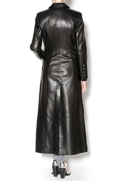 Shoptiques Product: Leather Trench Coat