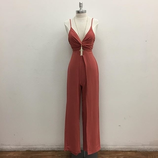 Shoptiques Product: Strappy Jumpsuit
