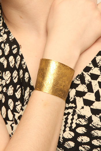 Shoptiques Product: Gold Fighting Cuff - main