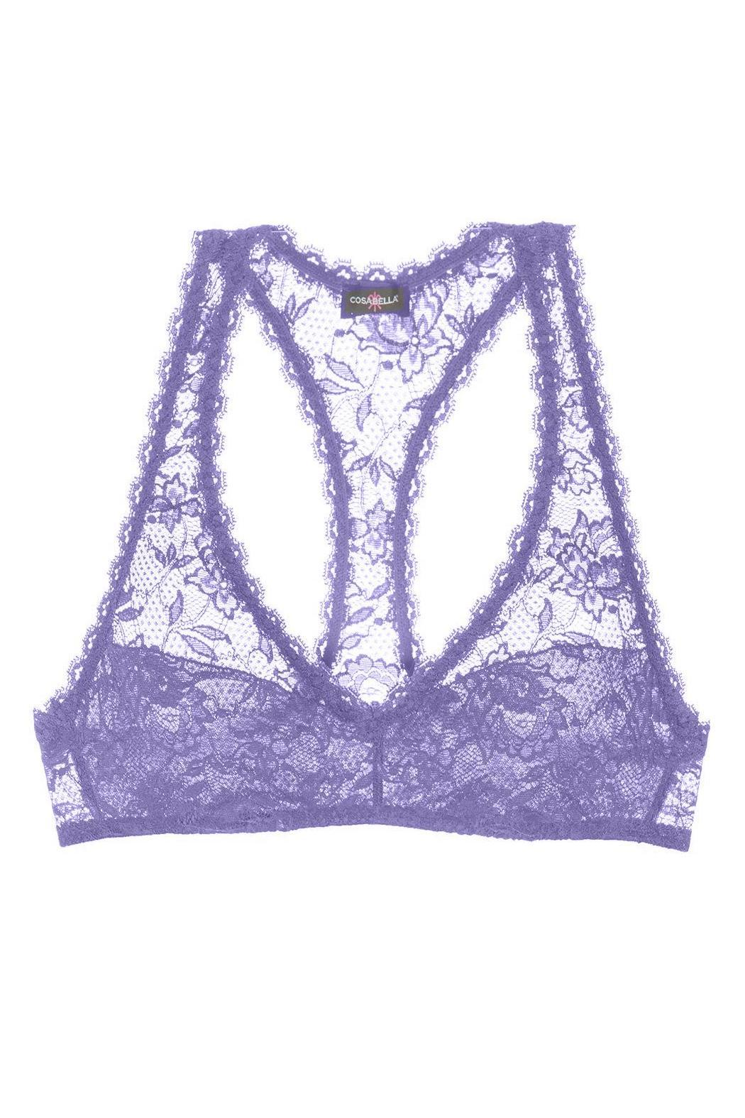 Cosabella Racer Back Bra - Front Cropped Image