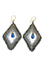 Ananda Handcrafted Crystal Earrings - Front cropped