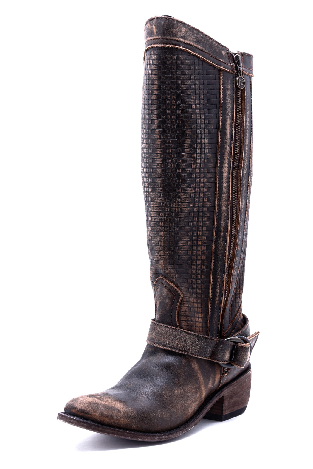 Liberty Black Vintage Distressed Boot from Texas by The ...
