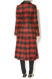 Free People Plaid Coat - Side cropped