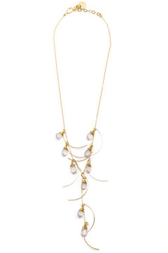 Shoptiques Product: Gold Waterfall Necklace