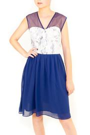 Pink Martini Lacey Bleu Dress - Product Mini Image