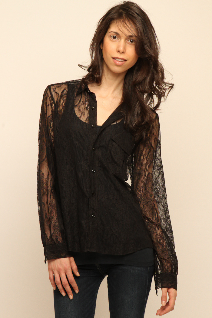 Cuffe Parade Chantlilly Lace Blouse - Main Image