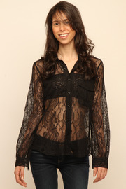 Cuffe Parade Chantlilly Lace Blouse - Other