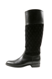 SPAZIOMODA Asymmetric Leather boots - Side cropped