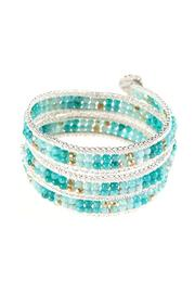 Ananda Chain Wrap Bracelet - Front cropped