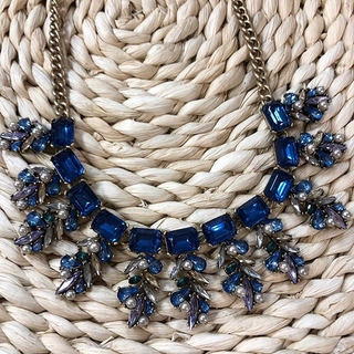 Shoptiques Product: Blue Statement Necklace